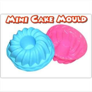 SM045 6pcs Set Mini Silicone Chiffon Cake Mould