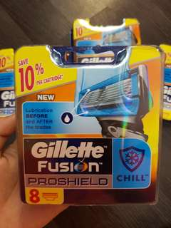 Gillette Fusion Proshield CHILL 8 cartridges