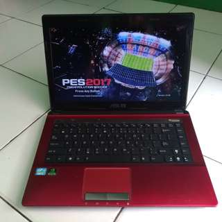Laptop Design Asus K43S Core i3 Ram 2 Hdd 500 Nvidia 2 gb
