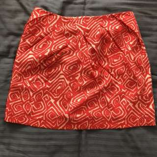 Size 10 Love and anarchy skirt