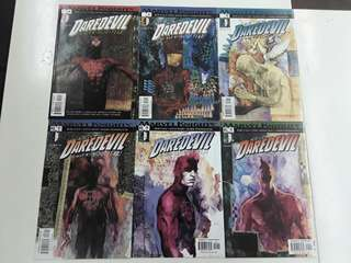 Daredevil (1998 2nd Series) Playing to the Camera Comics Set