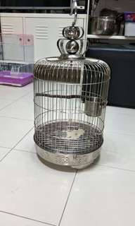 11inch stainless steel bird cage
