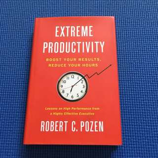 Extreme Productivity-good read for personal growth