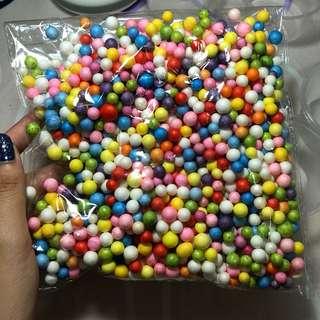 big rainbow beads