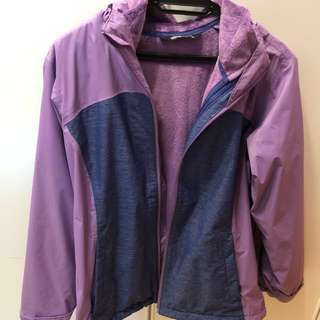 North Face 2-in-1 Jacket w Hoody