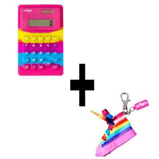 BN Smiggle Silicone Calculator/Sneakers Keychain