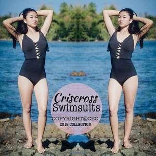 Criscross Swimsuit/Onepiece