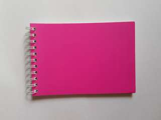 A5 Pink Sketchpad/Visual Dairy