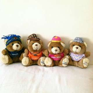❤ Whole Bear Set of FOUR ❤