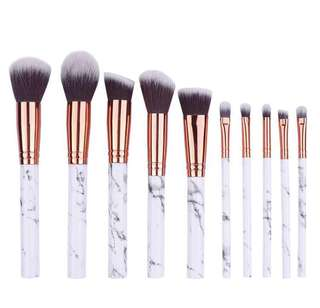 10pcs marbling brush set