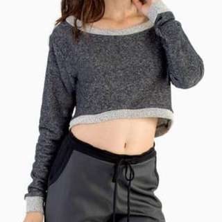 "Tobi ""chill out"" crop sweater"