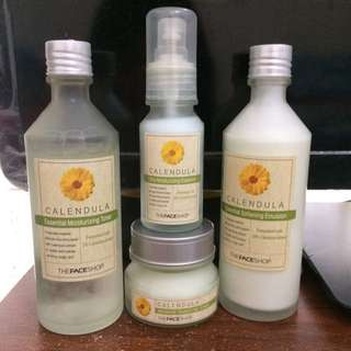 The face shop skin care
