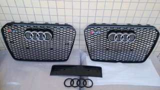 Audi RS5 grille 17 holes for 2012-2015 years