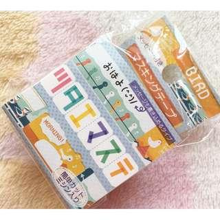 日本版 - MT Masking Tape Asamidori Bird 可寫入短訊雀烏圖案 20mmX5m