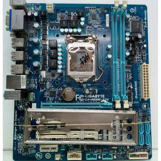 Motherboard Socket 1156 with Chipset H55 Gigabyte Brand Model GA-H55M-S2V