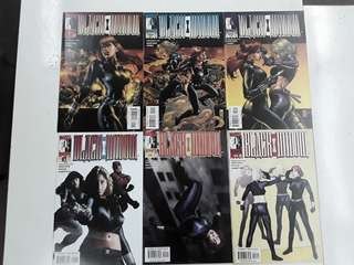 Black Widow The Itsy-Bitsy Spider (2011 Marvel) Comics Set