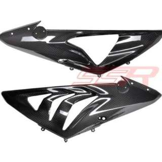 S1000RR carbon fiber side panels (USED)