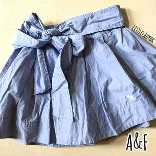 🌟兩件減 $ 1 0 • 三件減 $ 2 0 如 此 類 推 🤤 Abercrombie & Fitch A&F 淺藍蝴蝶結短裙 Ribbon Skirt mini dress