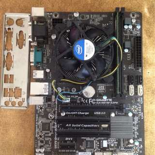 GA-H81M-S2PV i7-4790 8GB RAM