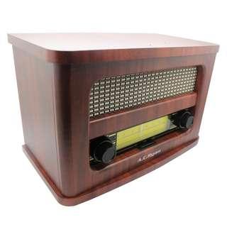 AC Ryan Playon!Retro FM/BT portable speaker (wooden case, retro looking)