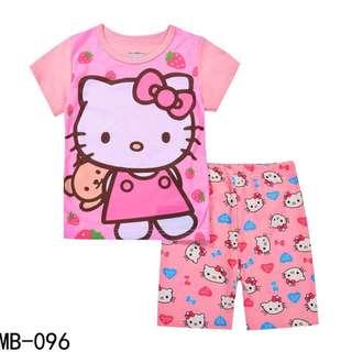 Hello Kitty tshirt with shorts set