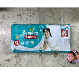 Looking for PAMPERS DRY PANTS XL