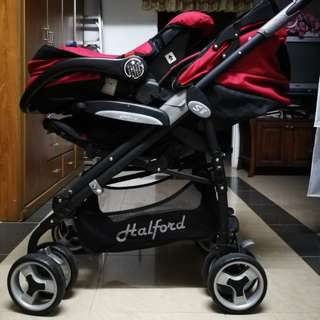 Preloved Halford S8 Pramette Travel System