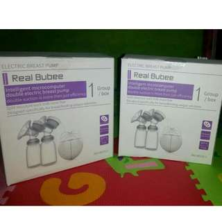 Ready STOK REAL BUBEE DOUBLE BREASTPUMP