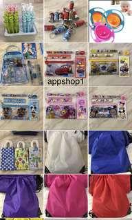 Kids party goody bag, door gift, birthday party item