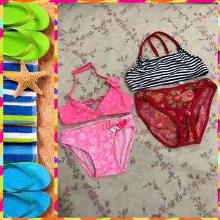 🌸🏖💕🌞Kids Swimwear B15-05 2sets (6-24mos)