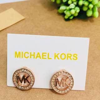 Micheal Kors 圓形耳環