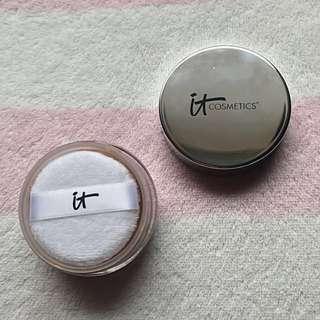 IT Cosmetics Tinted Skin-Blurring Finishing Powder - Medium
