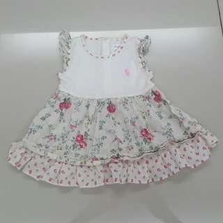 Ralph Lauren Baby Dress (3months)