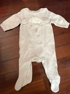 Baby Sheep Sleepsuit pyjamas