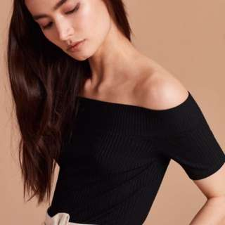 Aritzia off shoulder top