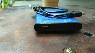 Hardisk laptop eksternal 320GB