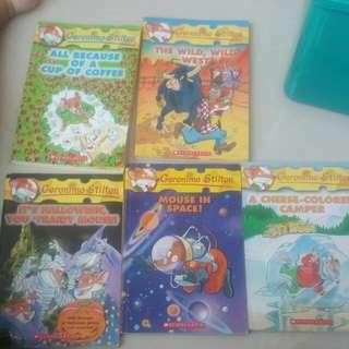 [cleanrance!!] geronino stilton story book!!