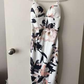 Size 10 white closet dress