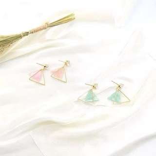 Pastel Love in Pink / Green