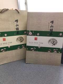 青島嶗山綠茶禮品裝