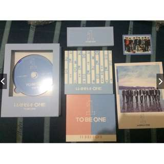 ON HAND UNSEALED WANNA ONE TO BE ONE SKY VER