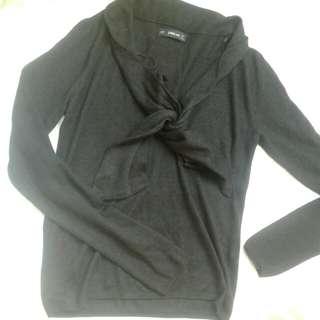Zara Knitted black
