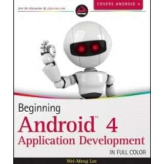 Book: Beginning Android 4 Application Development in Full Colour