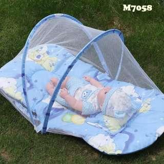 0812/O0*S (J)婴儿防蚊网睡垫.