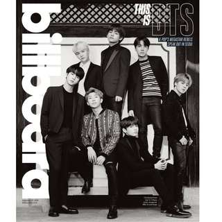 BTS X BILLBOARD MAGAZINE SET (INCOMING READYSTOCK)