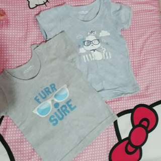 2 baby shirt little wishes