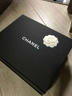 Chanel 磁石揭蓋紙盒 大Size 激抵用