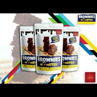 Brownies Monster #bajet20