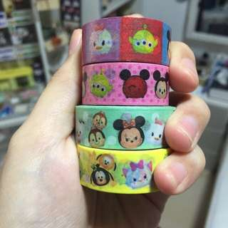 Tsum Tsum Washi Tapes