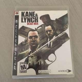 PS3 Kane & Lynch